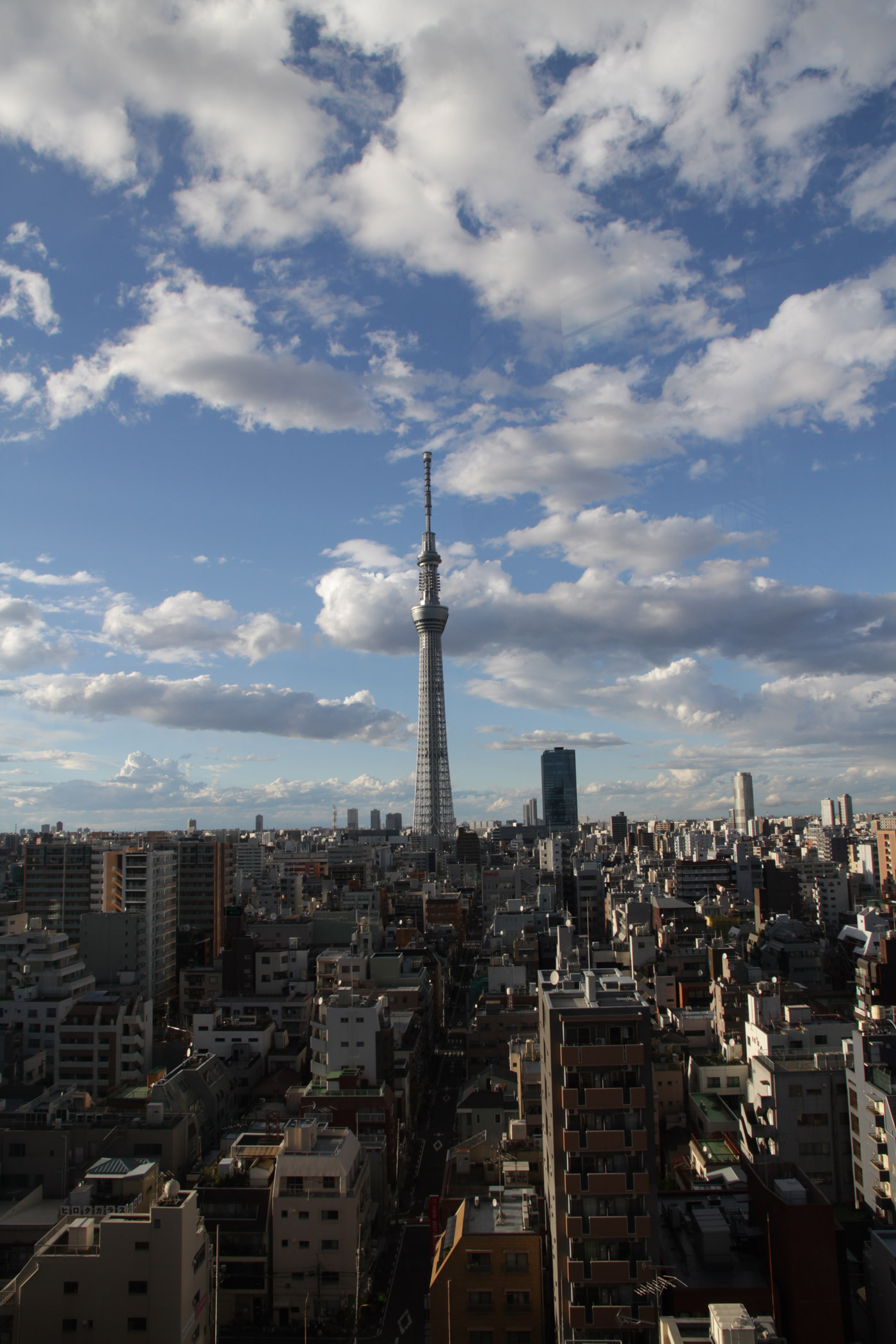 the scenery of Tokyo
